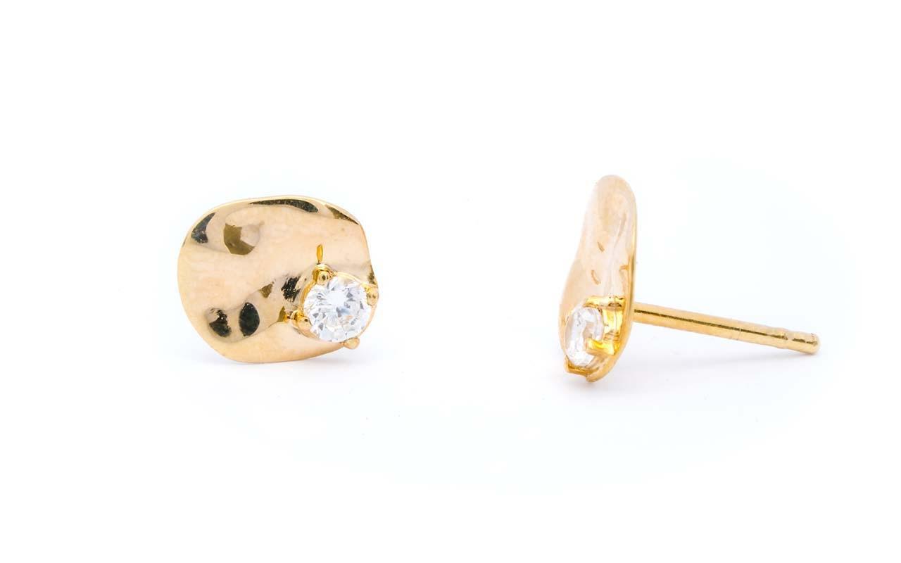 Salouen studs Sceona fine jewellery