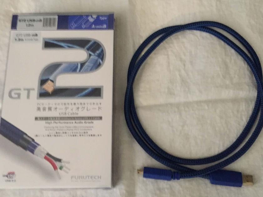 Furutech USB GT-2 Type A to mini B  1.2 meter