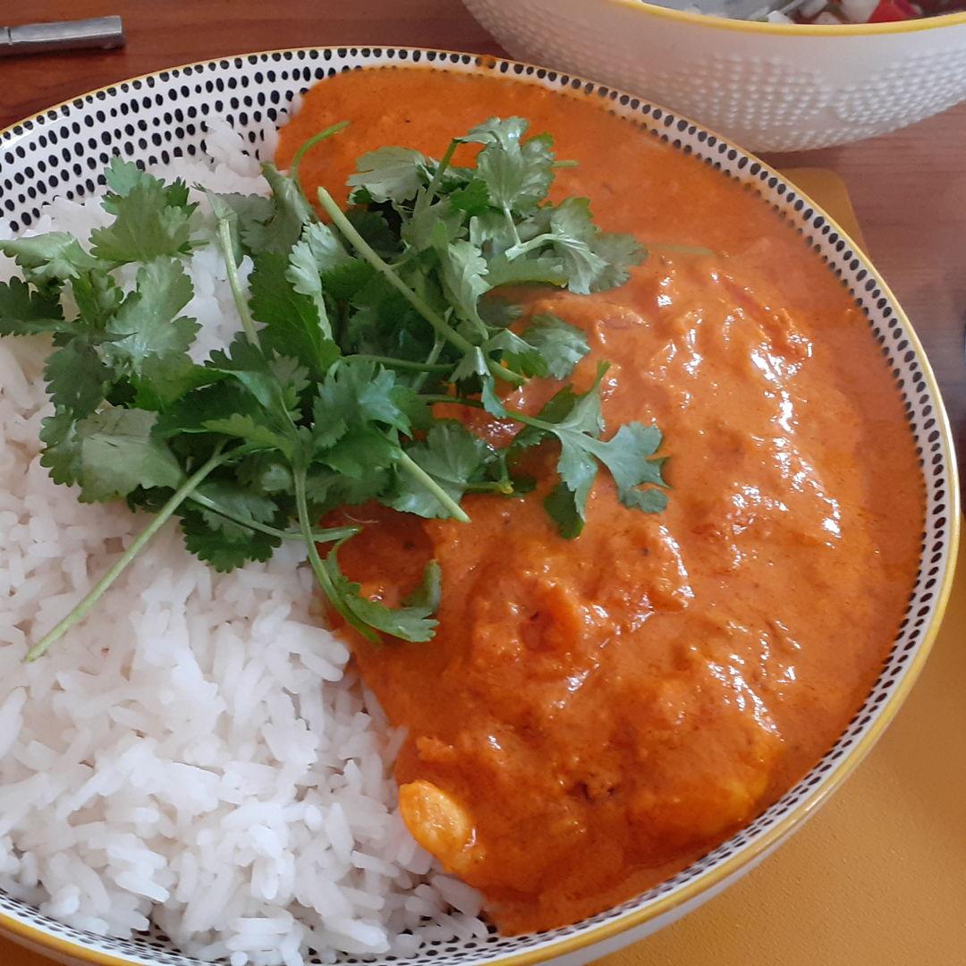 Goan prawn curry from Colva