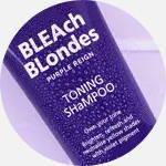 Purple toning shampoo gegen gelbstich