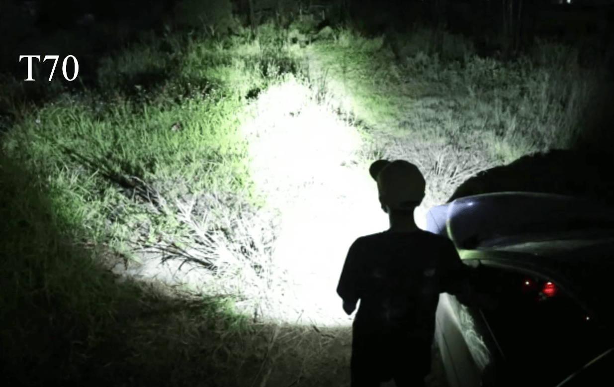 T70 Flashlight Compare