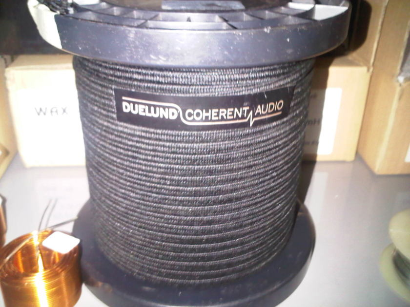 Duelund Coherent Audio 1.0/2.0 V2 pure silver silk/oil wire per metre