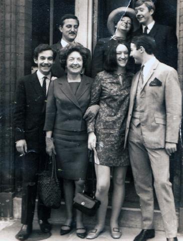 Parents wedding london england 1960