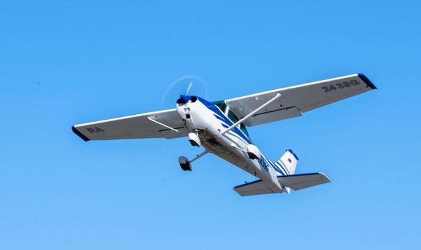 Полет над Петергофом на самолете
