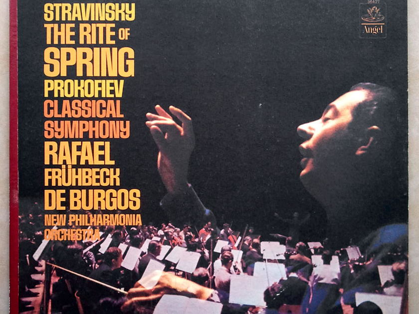 Angel Blue   BURGOS/STRAVINSKY - The Rite of Spring / PROKOFIEV Symphony No. 1 Classical / NM