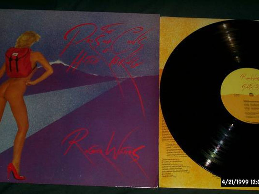 Roger Waters - Rare Nude Cover Lp pros and cons of hitchhiking