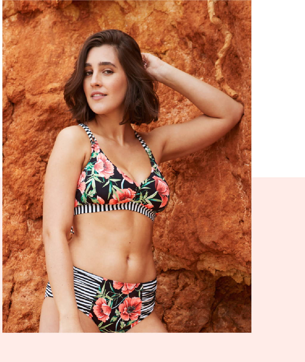 Get the SARAH D, DD, E & F Cup Top in SIPURA!