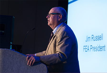 Russell elected as FEA President