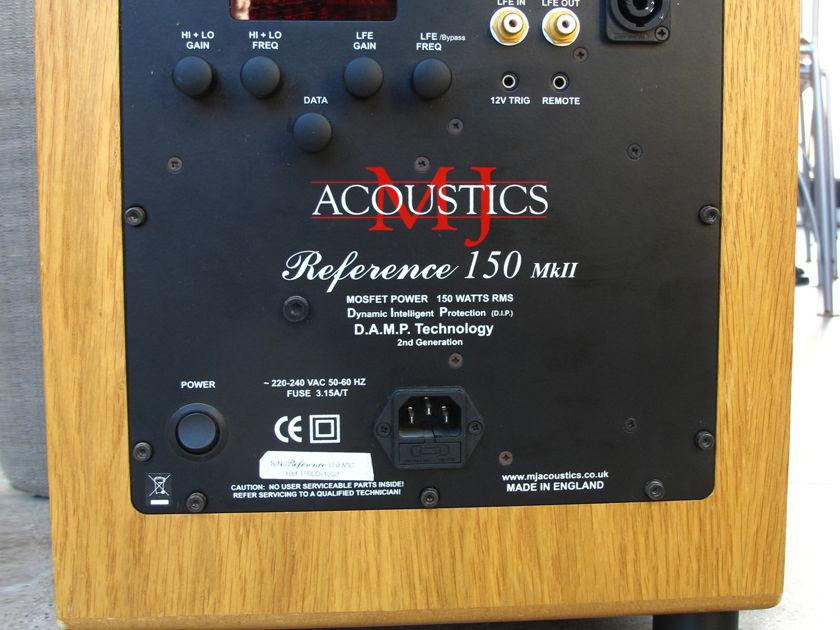 MJ Acoustics Ref 150 MkII Subwoofer