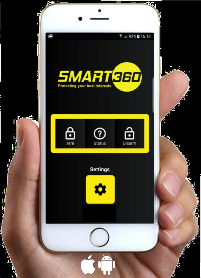 van security alarm smart360