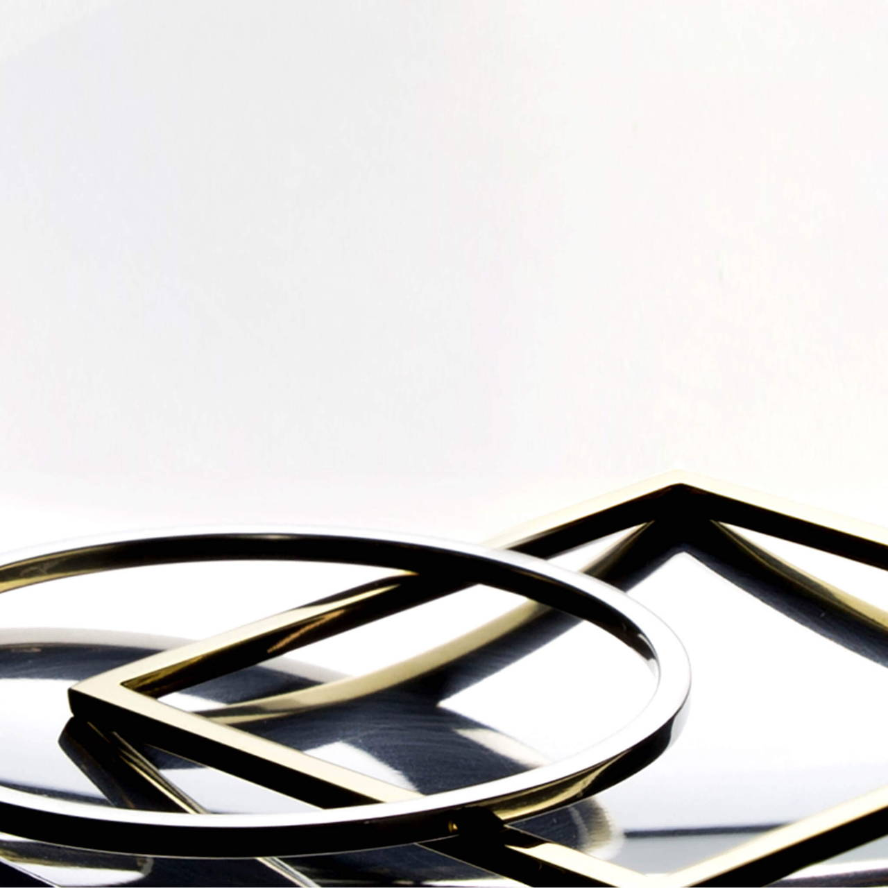 Round and Square Bangles