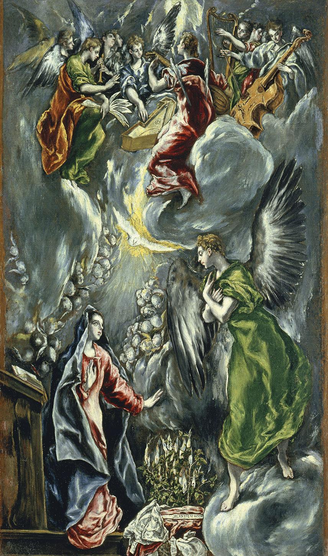 El Greco, The Annunciation