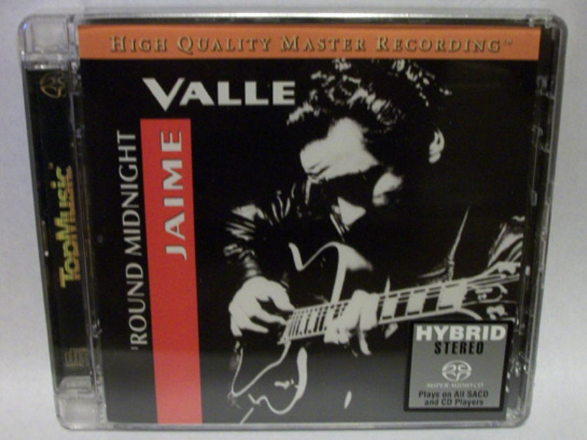 Jaime Valle SACD/CD - 'Round Midnight brand new in box!