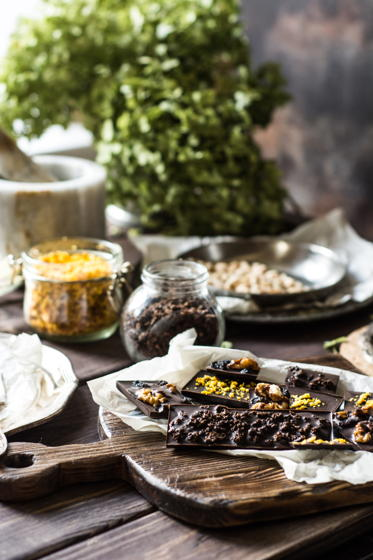 Новая Осенняя коллекция шоколадных плиток с полезными и ароматными начинками