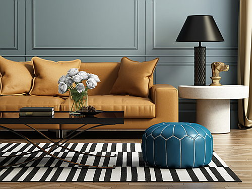 Mixing Modern And Antique Furniture, French Word For Small Sofa