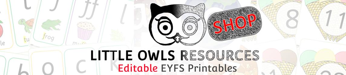 Little Owls Resources Shop