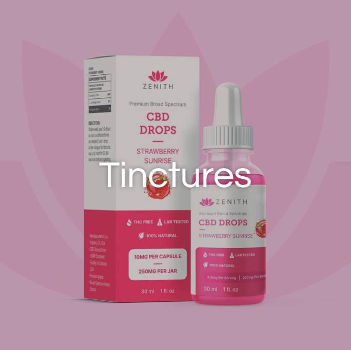 cbd tinctures drops