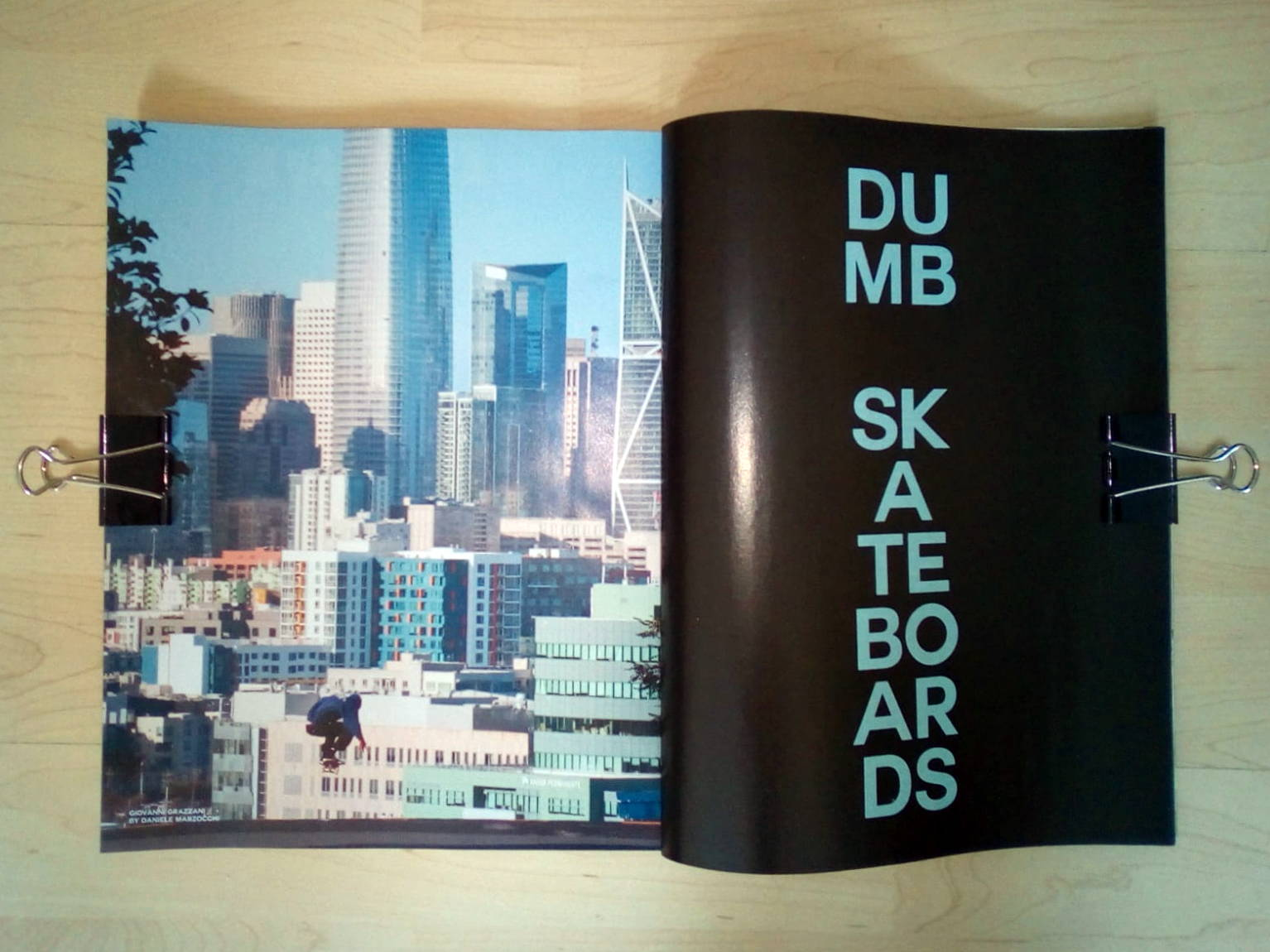 Dumb Skateboards su Thrasher Magazine