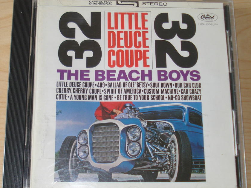 The Beach Boys - Litte Deuce Coupe/All Summer Long 2fer CD Import