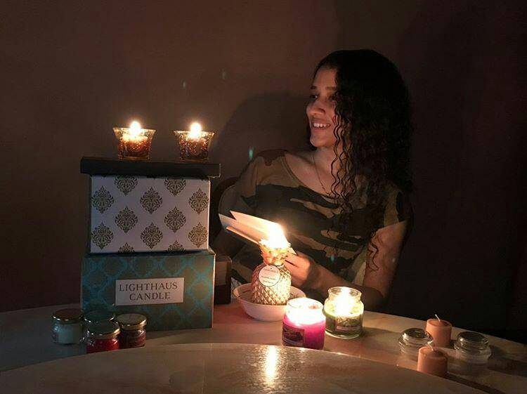 Happy customer review 1 - Lighthauscandle