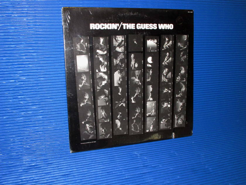 """THE GUESS WHO -  - """"Rockin'"""" -  RCA 1970s no Barcode Sealed"""