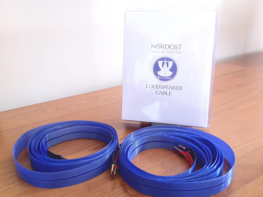 Nordost Blue Heaven LS Speaker Cables 2M
