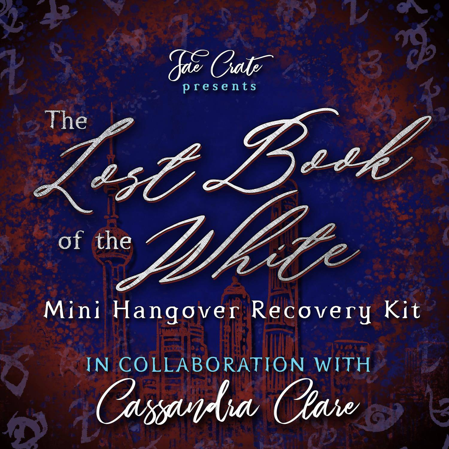 Fae Crate Presents The Lost Book of the White Mini Hangover Recovery Kit in Collaboration with Cassandra Clare