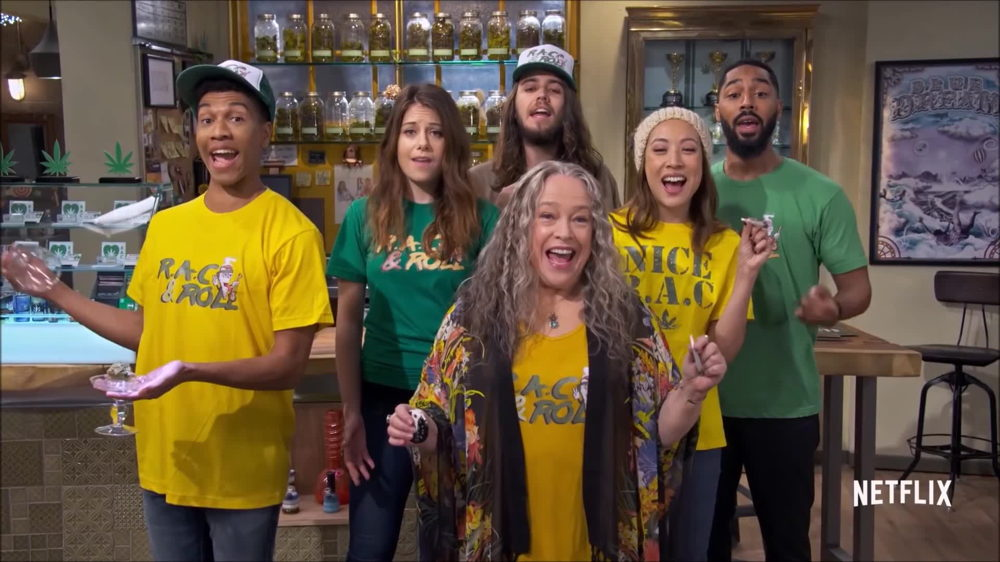 Disjointed Weed Series on Netflix