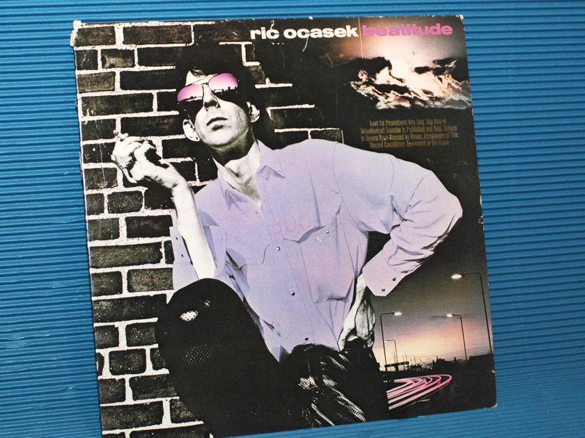 "RIC OCASEK   - ""Beatitude"" -  Geffen Records Promo 1982"