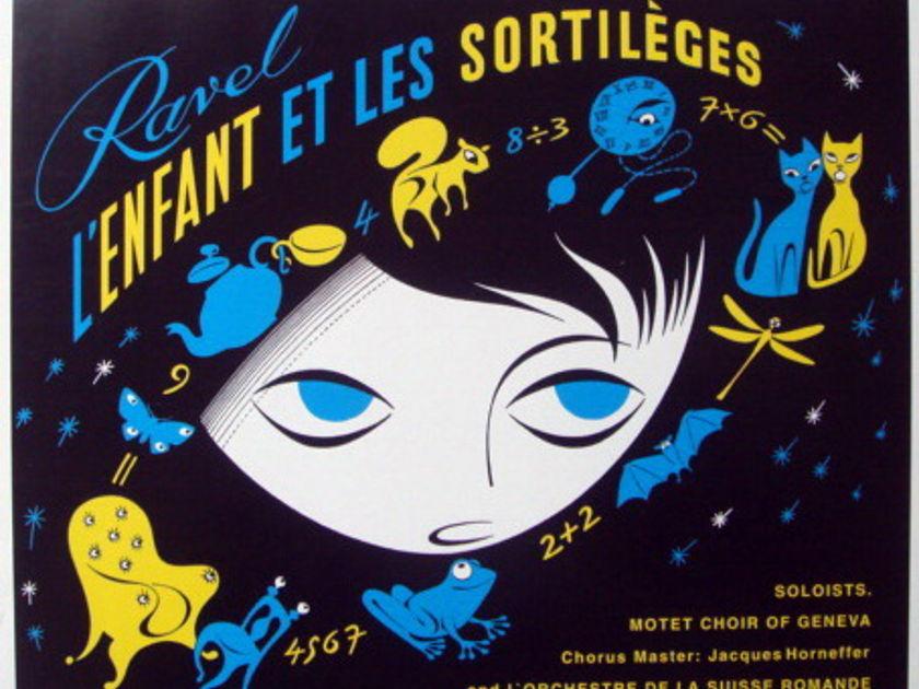 ★Audiophile 180g★ DECCA-Speakers Corner / ANSERMET, - Ravel L'Enfant et Les Sortileges, MINT(OOP)!
