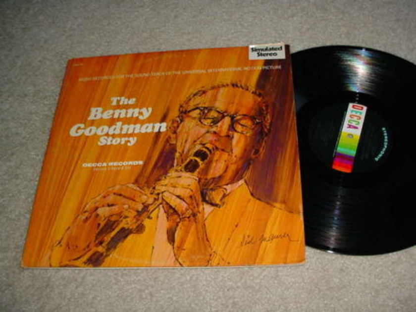THE BENNY GOODMAN STORY -  DOUBLE LP RECORD