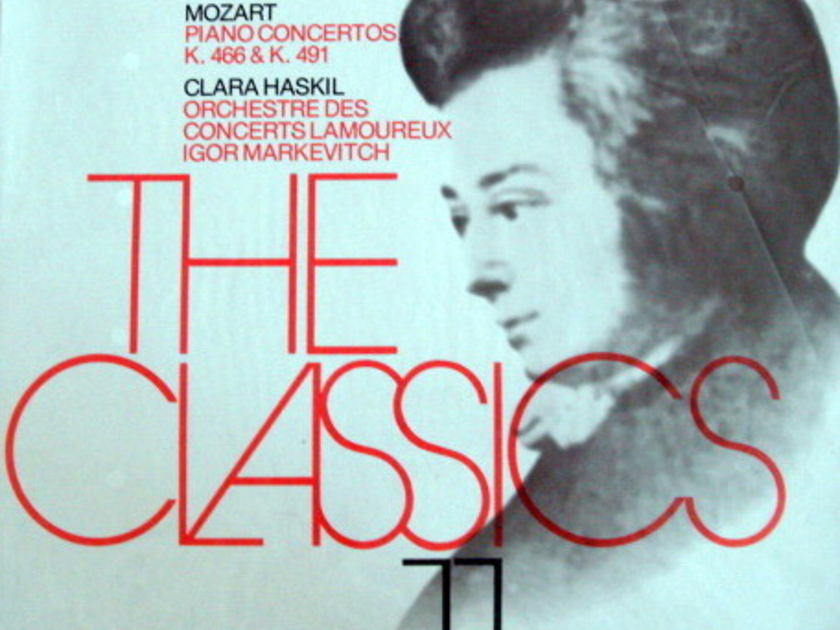 ★Sealed★ Philips /  - HASKIL-MARKEVITCH, Mozart Piano Concertos K.466 & 491!