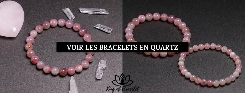 Bracelet Quartz Rose - King of Bracelet