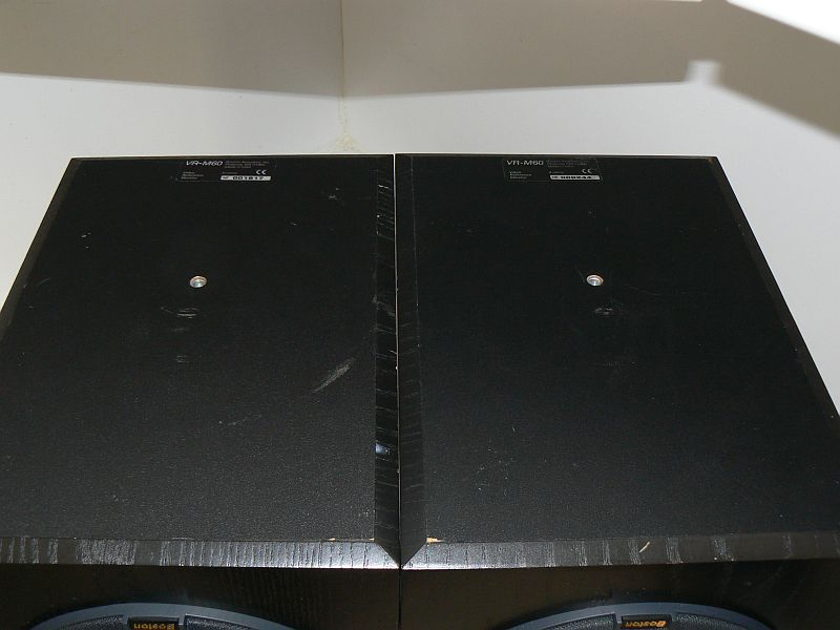 Boston Acoustics VRM-60 black pair very good condition