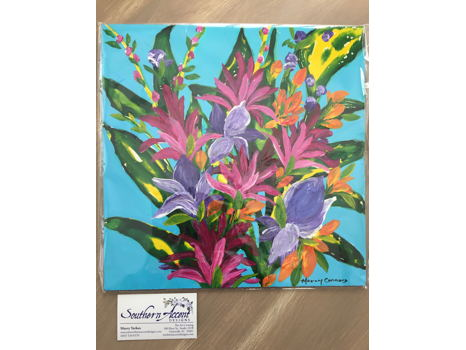 """Floral Action"" Original Painting"