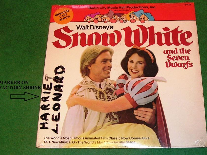 RADIO CITY MUSIC HALL - *SNOW WHITE & the SEVEN DWARFS* 1979 VISTA RECORDS NEW/SEALED