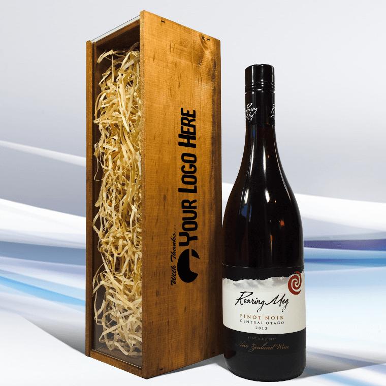 Customised wine gift