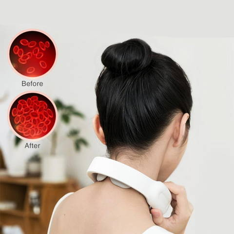 UpNeck Neck Massager,  Natural Posture Neck Massager, Wireless Neck Massager, Cordless Neck Massager