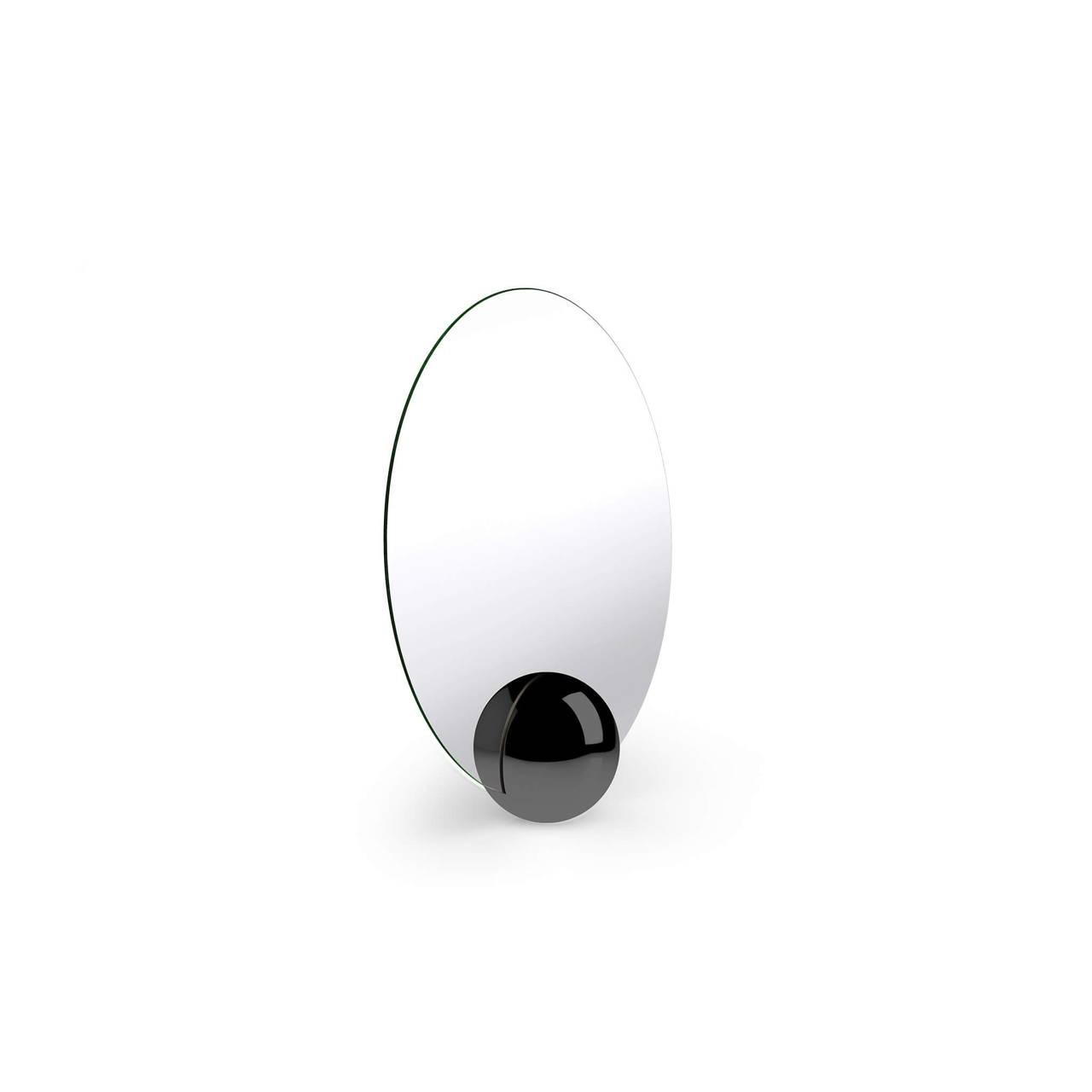 O-Mirror in Black Nickel finish