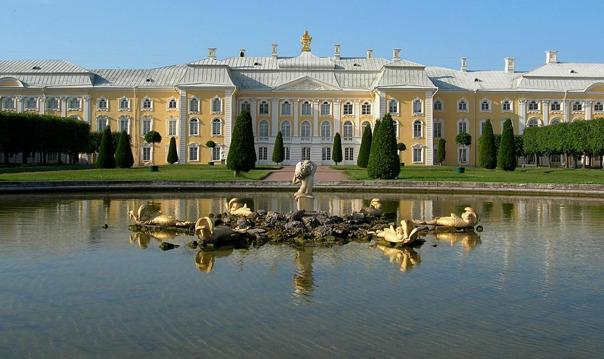 Петергоф: Большой дворец и Нижний парк