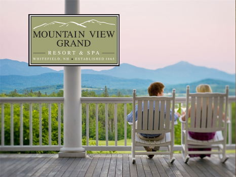 Two (2) Night Stay for Two (2) at AAA-Four Diamond Mountain View Grand Resort & Spa (NH)