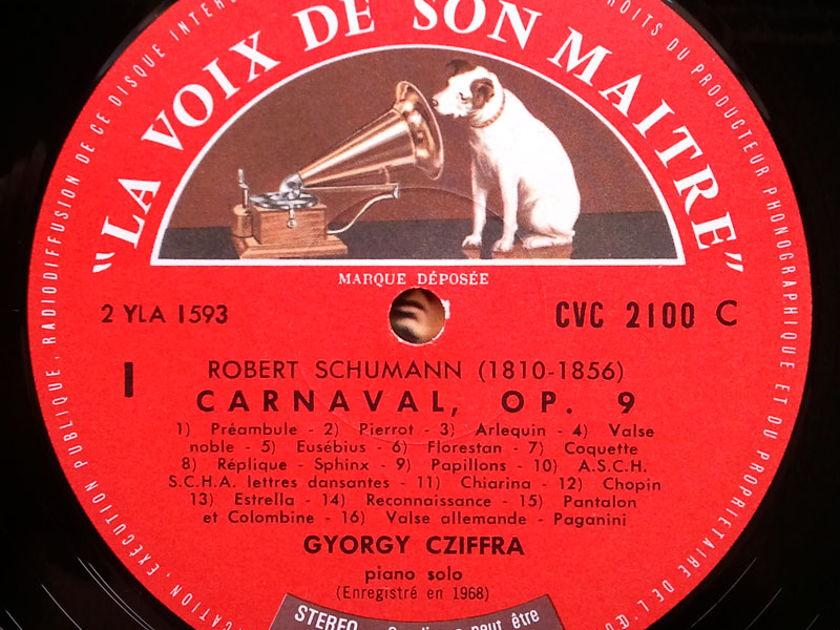 EMI | CZIFFRA/SCHUMANN - Carnaval Op. 9, Novelette No. 8 / NM