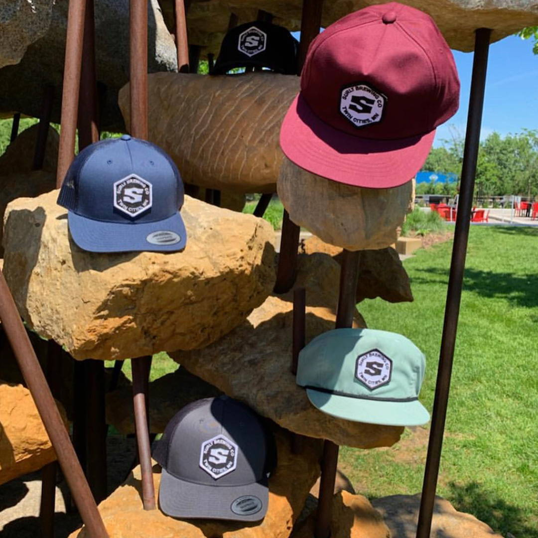 custom hats on display