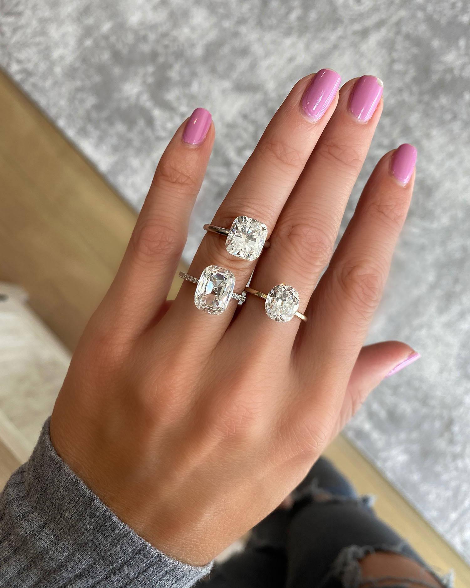 Miss Diamond Ring 3 Carat 4 Carat Radiant Diamond Engagement Ring