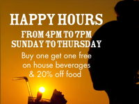 HAPPY HOURS image