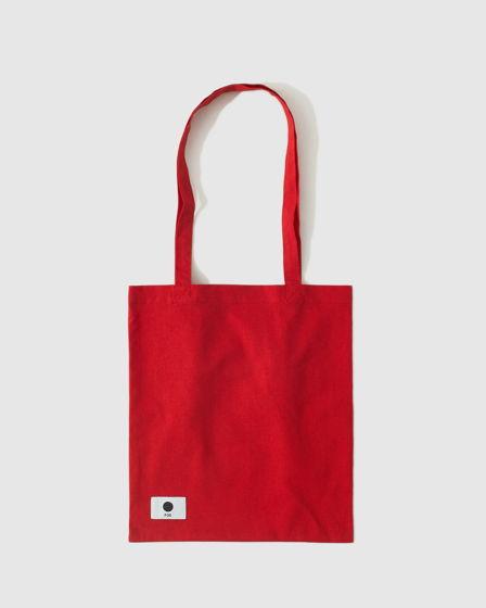 Сумка шоппер в красном цвете FOS clothes