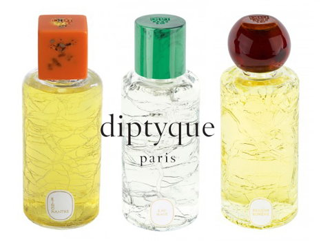 diptyque's Eau de Pafum Collection