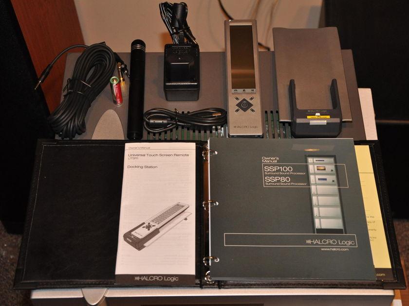Halcro SSP100 (SSP 200 Upgraded) Rare High End Processor