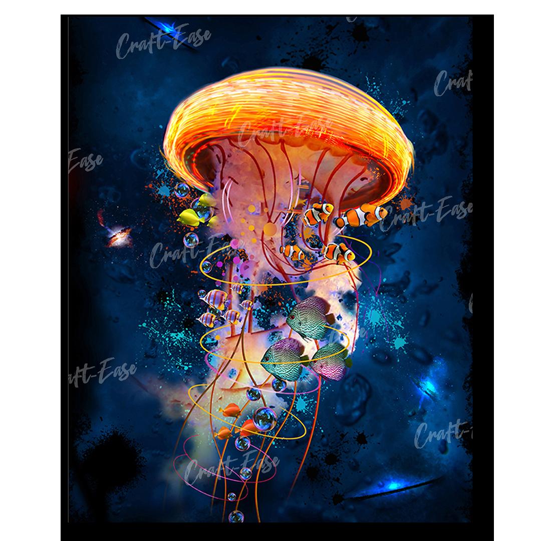 """""""Jellyfish Galaxy"""" by David Loblaw"""