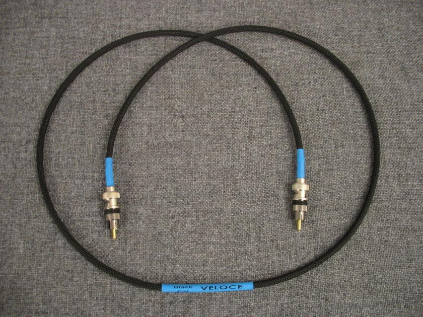 Black Cat Veloce 1.23 m 75 ohm digital cable
